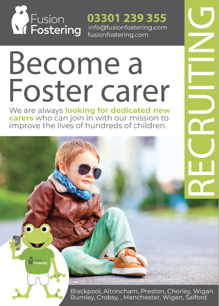 Example of Branding and Design for Fusion Fostering